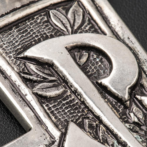 Croce pettorale argento 800 XP 5