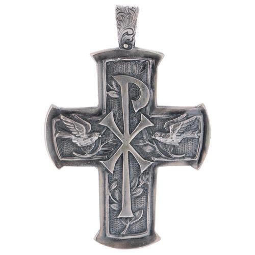 Croce pettorale argento 925 XP 1