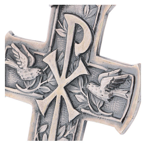 Pectoral Cross made of silver 925, Chi-Rho 2