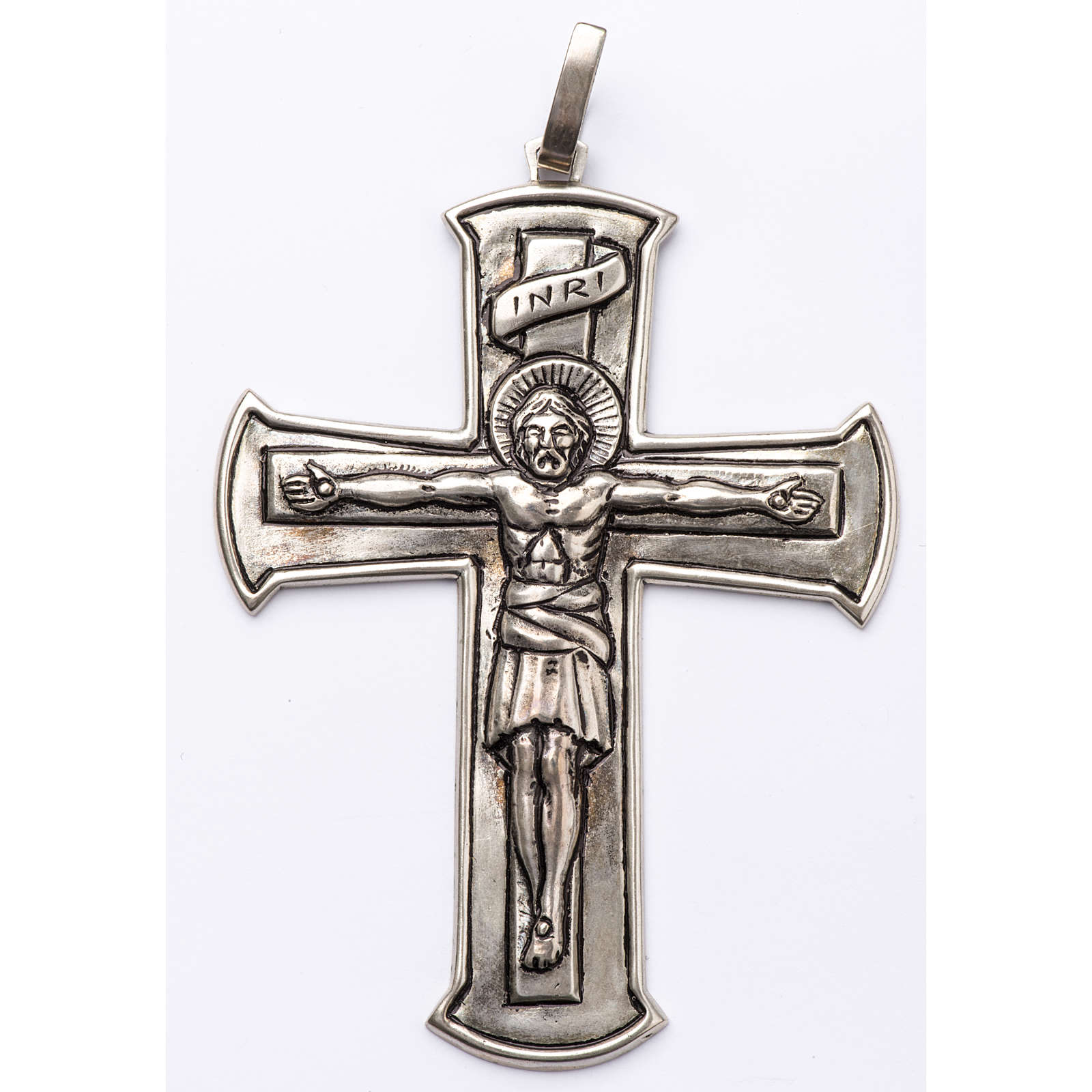 Pectoral Cross made of silver 800, Crucifix 3