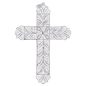 Pectoral Cross made of silver filigree s1
