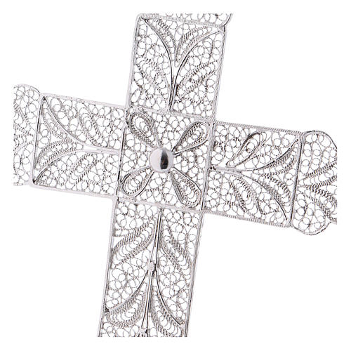 Pectoral Cross made of silver filigree 2