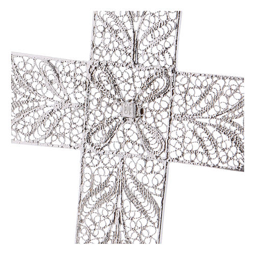 Pectoral Cross made of silver filigree 4