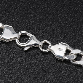 Cadena para cruz pectoral plata 925 - 90 cm. 2 lados s4