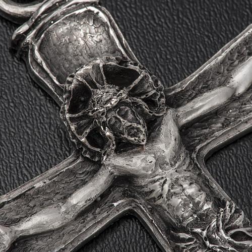 Croix évêque argent 925 4