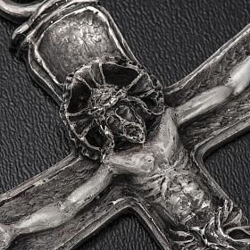Croce vescovo argento 925 s4
