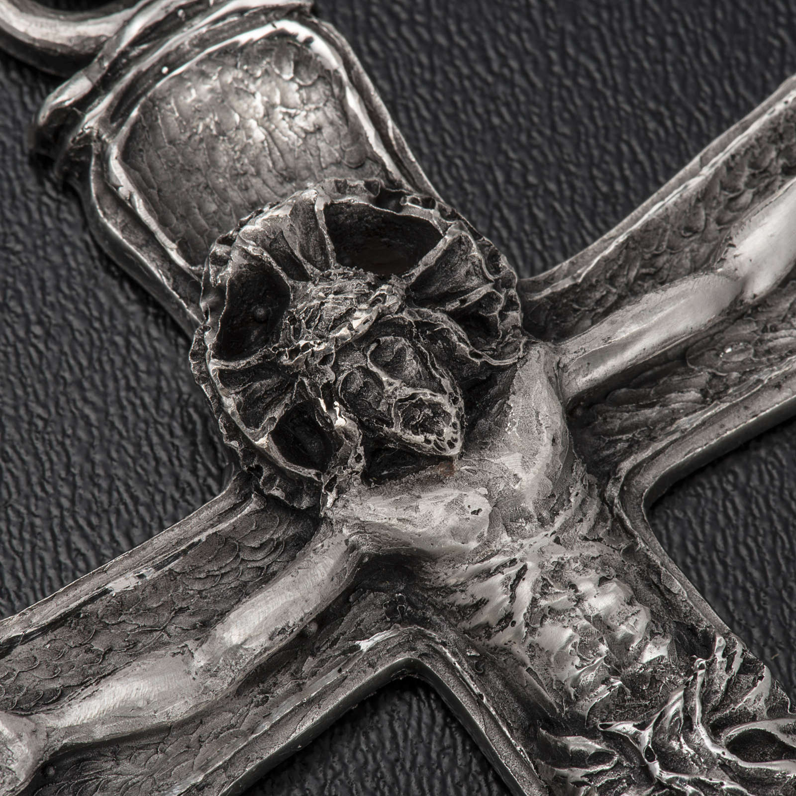 Cruz bispo prata 925 3