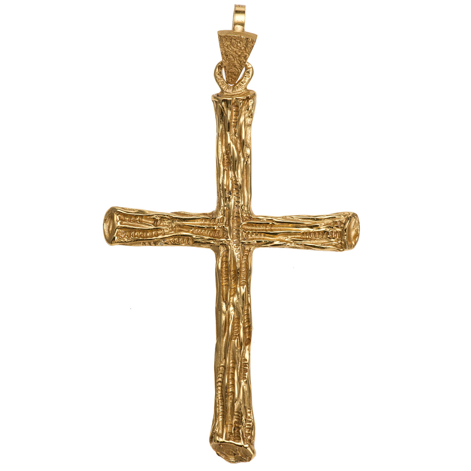 Pectoral cross made of gold-plated sterling silver 3