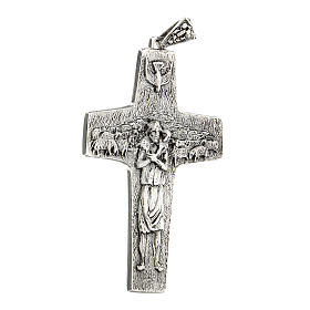 Pope Francesco silver pectoral cross s4