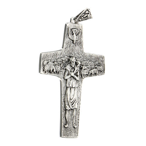 Pope Francesco silver pectoral cross 4