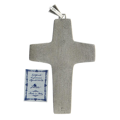 Pope Francesco silver pectoral cross 6
