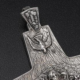 Croce Papa Francesco argento 925 s3