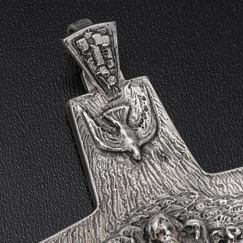 Croce Papa Francesco argento 925 3