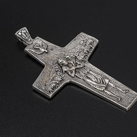 Pope Francesco silver pectoral cross s2