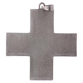 Cruz pectoral latón escenas de la vida de Jesús s3