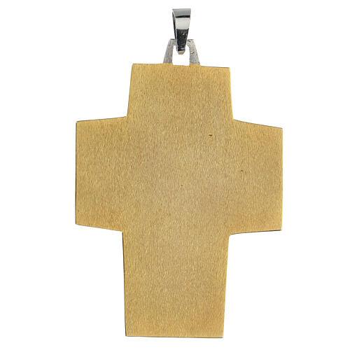 Cruz Pectoral latón Última Cena 3