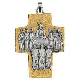 Croce vescovo ottone Ultima Cena s1