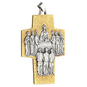 Croce vescovo ottone Ultima Cena s2