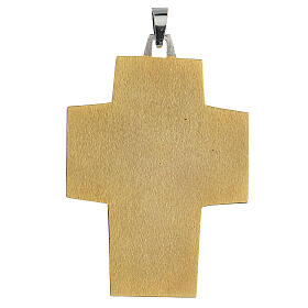 Croce vescovo ottone Ultima Cena s3