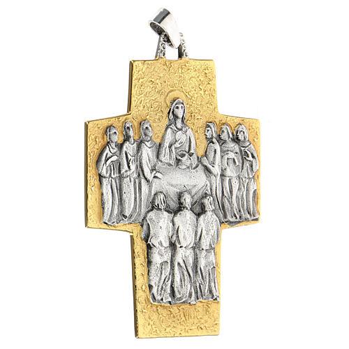 Croce vescovo ottone Ultima Cena 2