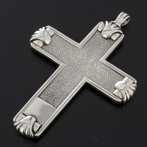 Pectoral cross in sterling silver, Year of Faith 12