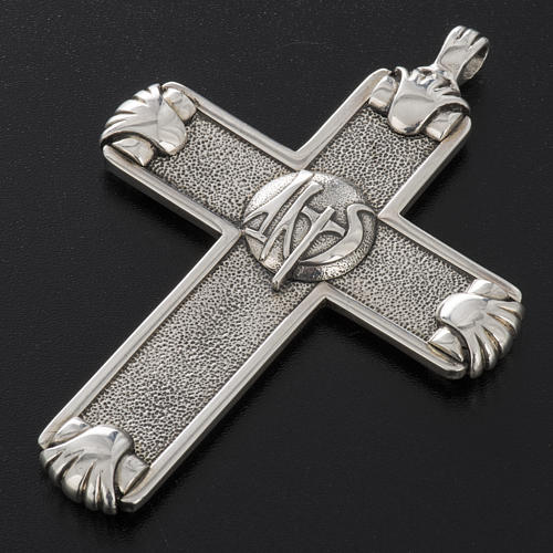 Pectoral cross in sterling silver, Year of Faith 13