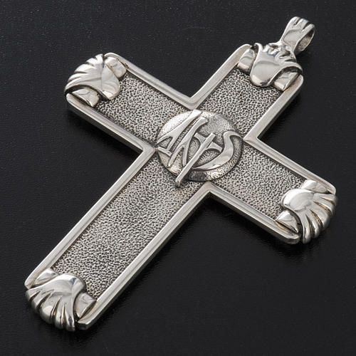 Pectoral cross in sterling silver, Year of Faith 14