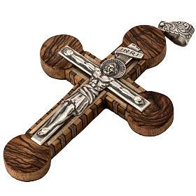 Anello vescovile regolabile XP alfa omega argento 925 s4