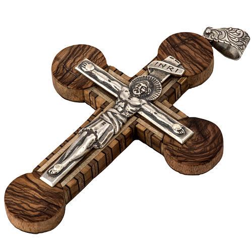 Anello vescovile regolabile XP alfa omega argento 925 4