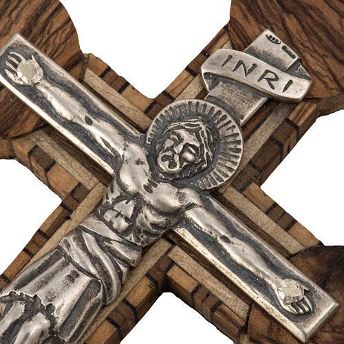 Anello vescovile regolabile XP alfa omega argento 925 5