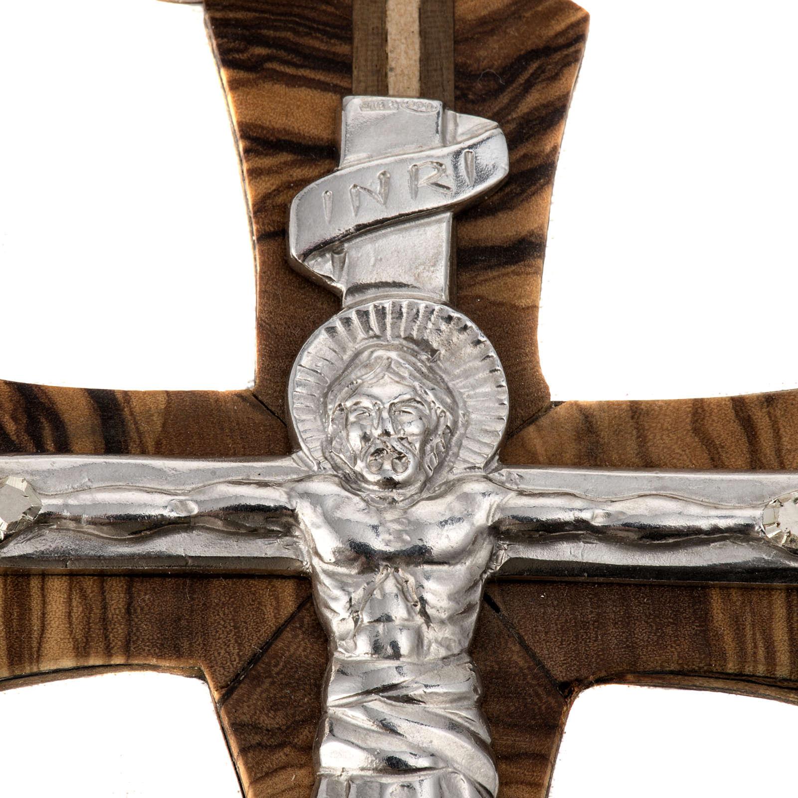Anneau pastoral réglable Année de la Foi argent 3
