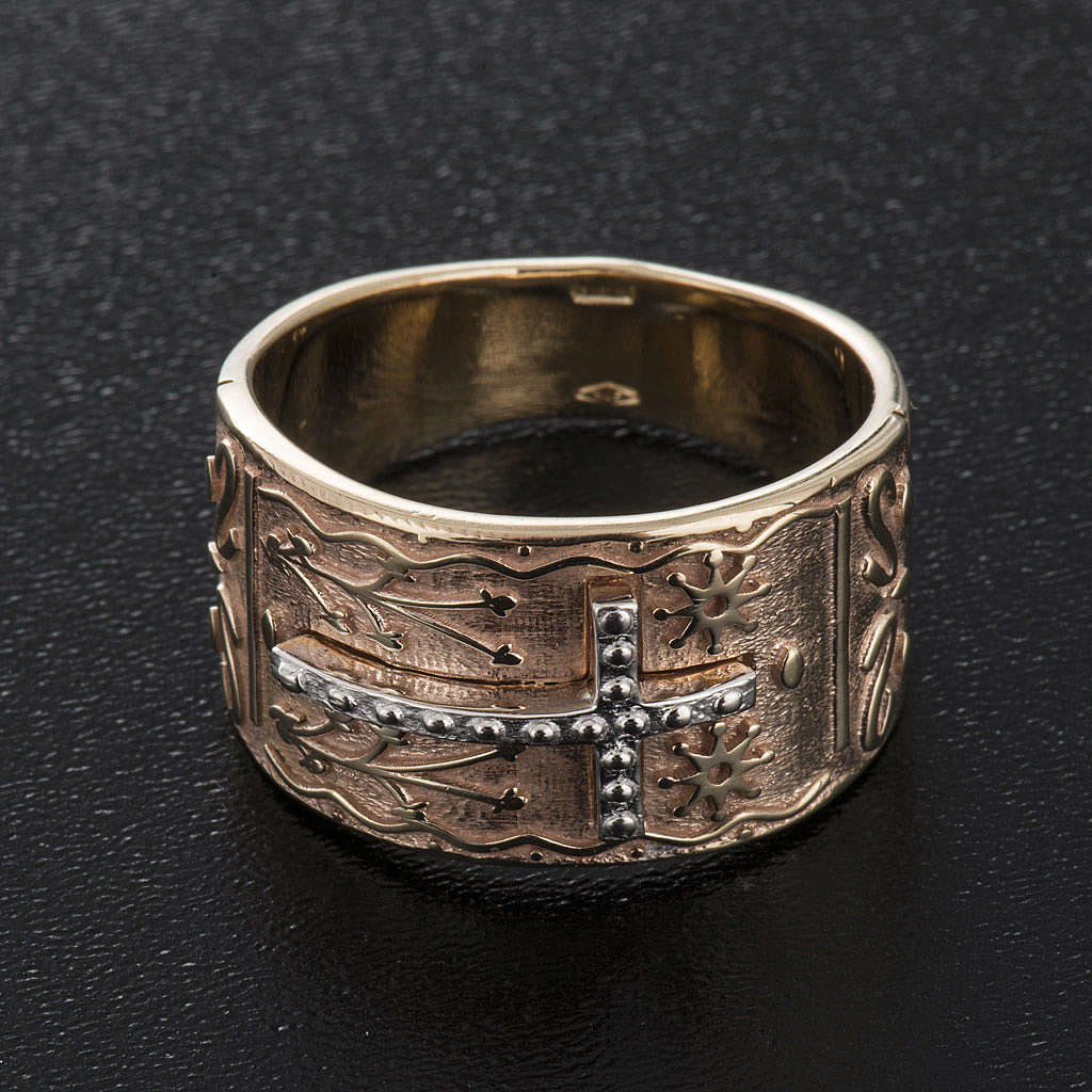 Bishop's ring in 9kt pink gold 3