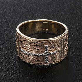 Bishop's ring in 9kt pink gold s2
