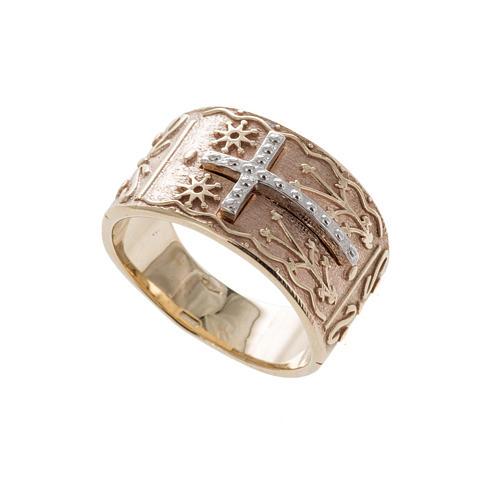 Bishop's ring in 9kt pink gold 1