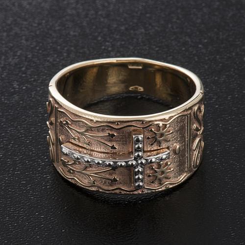 Bishop's ring in 9kt pink gold 2