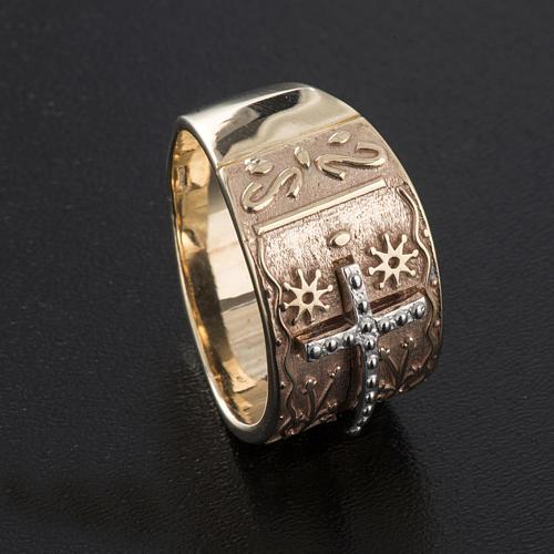 Bishop's ring in 9kt pink gold 5