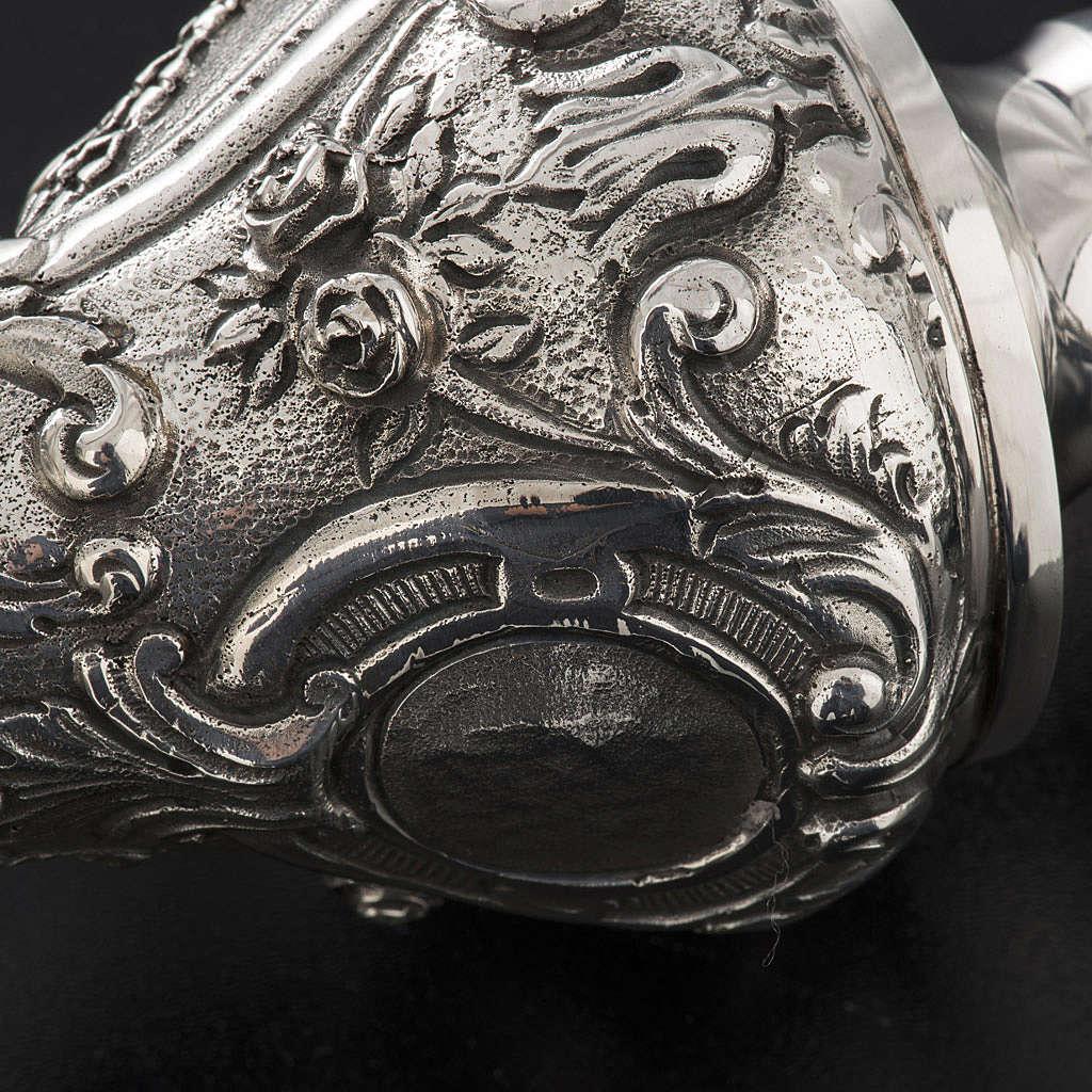 Crozier in 966 silver, electroforming, decorated model 3