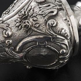 Pastorale in argento 966/1000 e metallo mod. decori s9