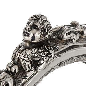 Báculo em prata 966/1000 e metal mod. decoro s5