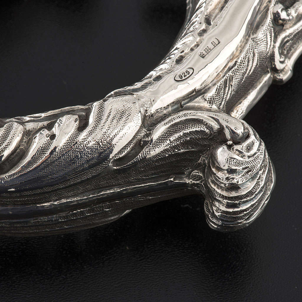 Crozier in 966 silver, electroforming, decorated model 3