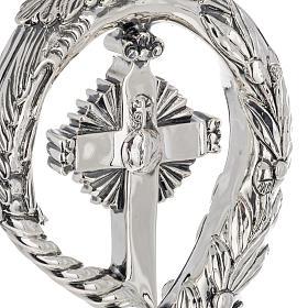 Báculo en plata 966/1000 en galvanoplastia mod. Cruz s5