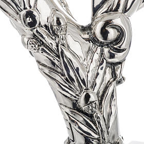 Pastorale in argento 966/1000 e metallo mod. croce s3