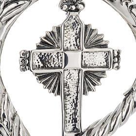 Pastorale in argento 966/1000 e metallo mod. croce s4