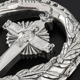 Pastorale in argento 966/1000 e metallo mod. croce s6