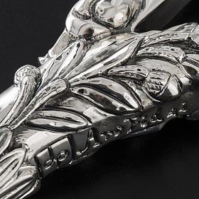 Pastorale in argento 966/1000 e metallo mod. croce s7