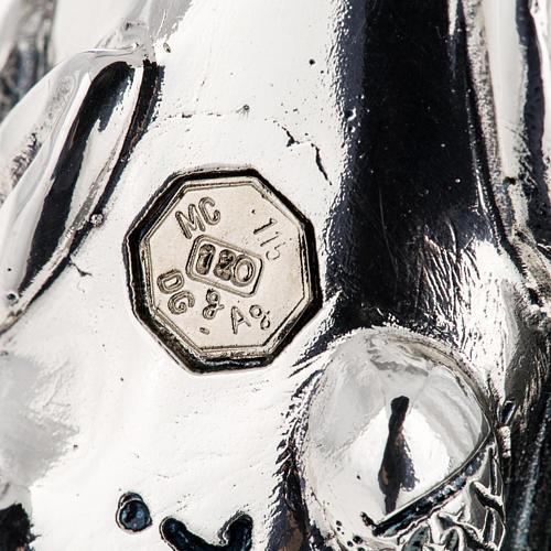 Pastorale in argento 966/1000 e metallo mod. croce 8