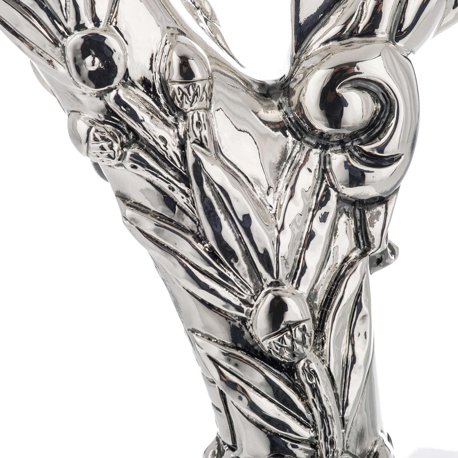 Crozier in 966 silver, electroforming, cross model 3