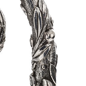 Crozier in 966 silver, electroforming, olive tree model s4