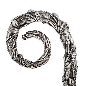 Báculo em prata 966/1000 e metal mod. oliveira s2