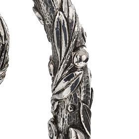 Báculo em prata 966/1000 e metal mod. oliveira s4